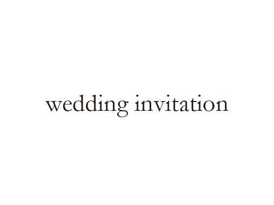 ウェディングスタンプ メッセージ(wedding invitation) WD-80