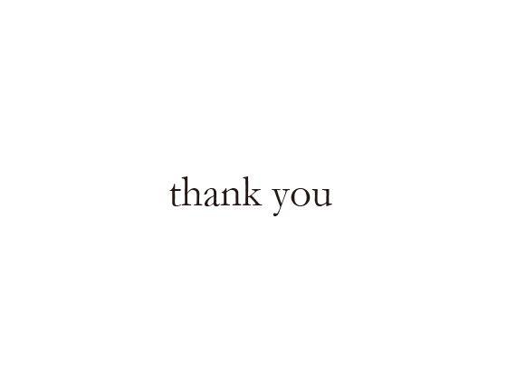 ウェディングスタンプ メッセージ(thank you) WD-89