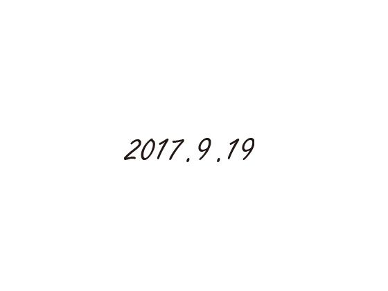 ウェディングスタンプ メッセージ(日付) WD-93
